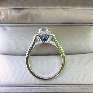 Jewelry - 925 Silver Engagement Wedding Ring Bridal Promise